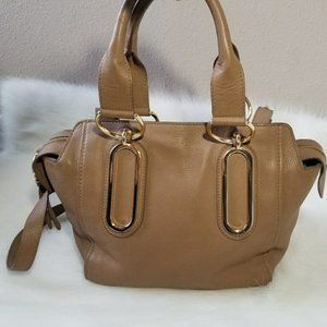 See by Chloe Paige Crossbody Purse  Tan Satchel